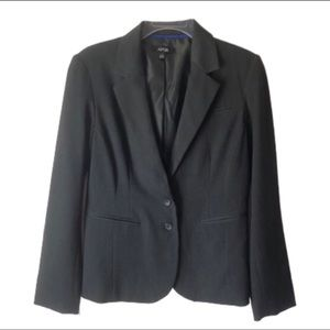 Apt 9 Charcoal Fitted Blazer size 8